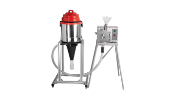 Sample exhaust system with standard Cyclone separator incl. sample glass 500 ml, for 230 V/1~